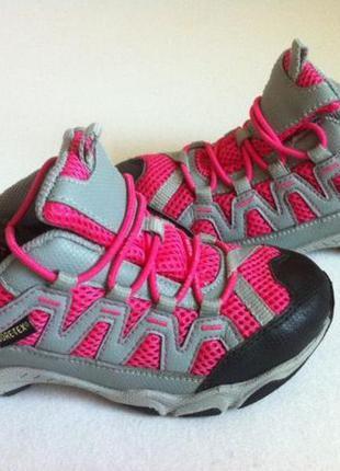 Демисезонные ботинки ecco с мембраной gore-tex р.28-29 стелька...