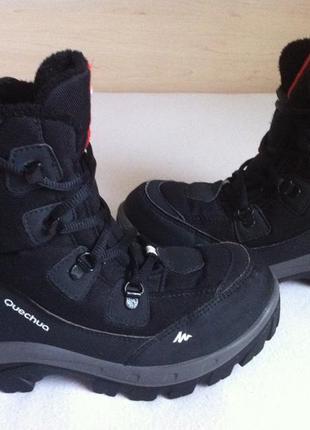 Термо сапоги  , ботинки quechua с мембраной  novadry размер 34...