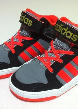 Кроссовки-сникерсы , хай- топы adidas 👟 размер 25 стелька 15,7...