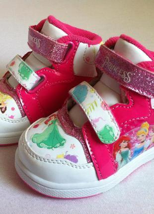 """Стильные кроссовки сникерсы, хай-топы disney """"princess """" 👟 раз..."""