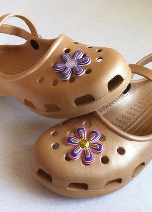 Босоножки , сандалии crocs 👡 размер w9 (39,5) оригинал !!!
