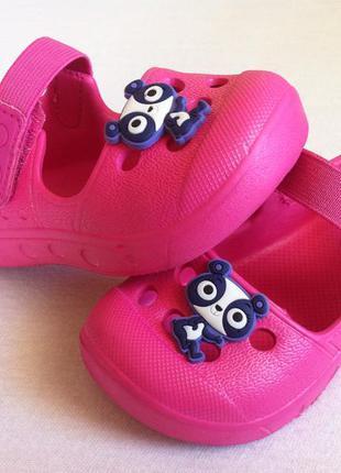 Как  новые !!! ультралегкие босоножки , сандалии 🐼🐼 размер 21 ...