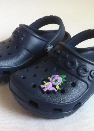 Как новые ! сабо crocs hilo clog ☀️😎   размер с5 ( 21 ) оригин...