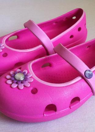 Балетки , туфли , туфельки crocs  🎀 размер с13 ( 29-30) оригин...