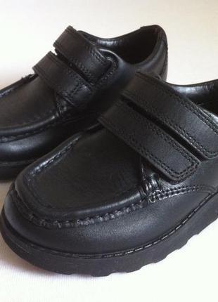 Стильные кожаные туфли clarks 👞  размер 24 оригинал ❗❗❗