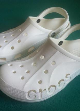 Сабо crocs baya white ☀️😎 размер m 11( 44 ) оригинал ❗❗❗