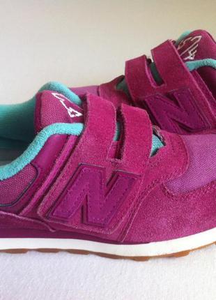 Мега стильные кроссовки new balance 574 👟 размер 34-35 оригина...