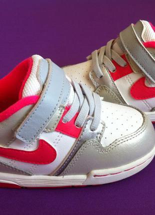 Стильные  демисезонные 🍂 кожаные кроссовки nike  👟 размер 25 о...