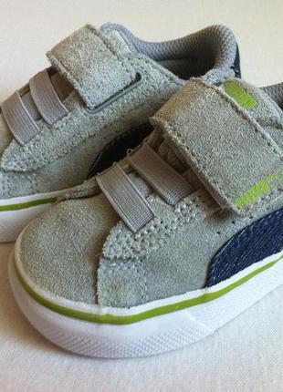 Мега стильные кроссовки puma  👟  размер 21 оригинал ❗❗❗