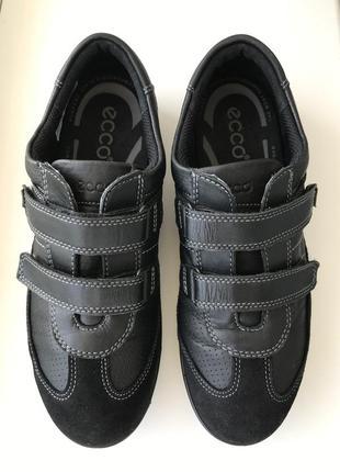 Мега комфортные кожаные кроссовки , туфли ecco 👟🍂 размер 37 ор...