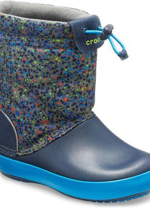 Сапоги , сапожки , ботинки crocs crocband 🍂❄️⛄❄️🍂размер с 7 (2...