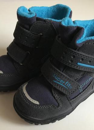 Зимние ❄️термо ботинки ,сапоги superfit с gore-tex ❄️размер 23...