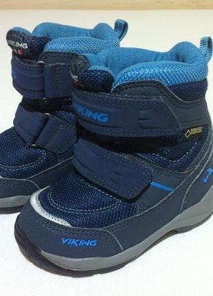 Зимние ❄️ сапоги ,ботинки viking ❄️с мембраной gore-tex р.23 -...