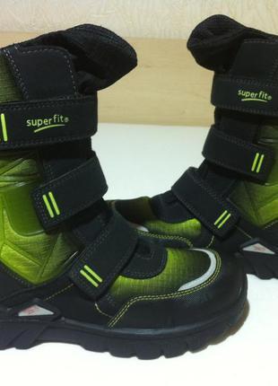 Зимние ❄️ ботинки ,сапоги superfit с gore-tex❄️ р.37 ( 24 см )...