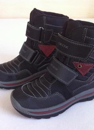 Зимние ❄️ ботинки , сапоги geox с мембраной ❄️ р. 29  (19 cм) ...