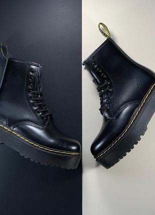 💖акция💖dr.martens jadon black, ботинки женские доктор мартинс ...