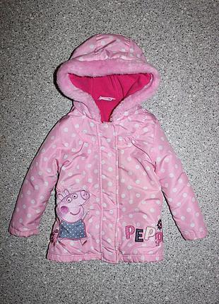 Куртка пеппа пиг