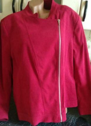 Курточка пальто косуха большой размер 24uk