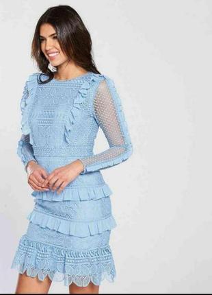 Шикарное платье размер 16(48-50)