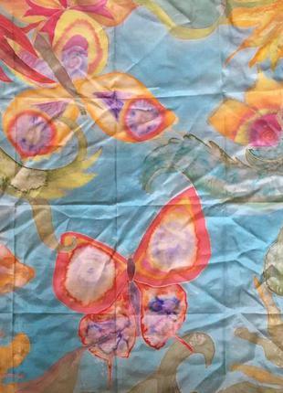 Платок косынка ручная роспись