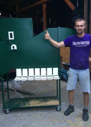 ИСМ, сепаратор зерна, машина очистки и калибровки семян, АПО