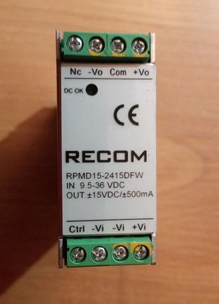 Блок питания RECOM RPMD 15-2415DFW