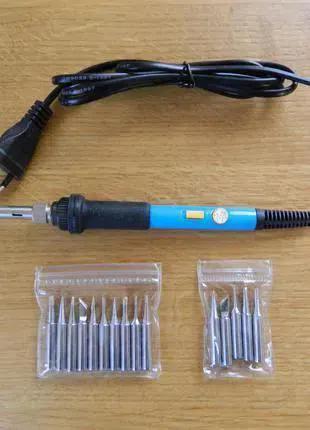 Паяльник с регулировкой температуры (выключатель на корпусе) 60W