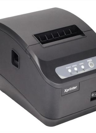 Чековый принтер Xprinter XP-Q200II 80мм LAN автообрезка