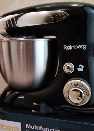Кухонный комбайн миксер с металлической чашей Rainberg RB-8081