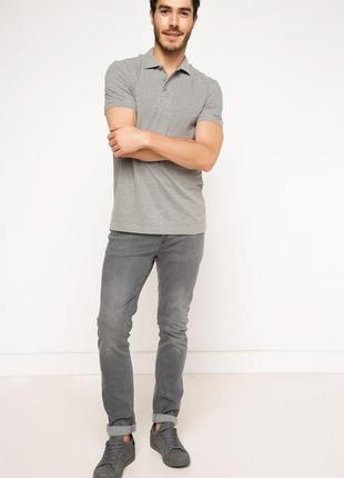2-63 новая мужская футболка поло defacto размер s известный ту...