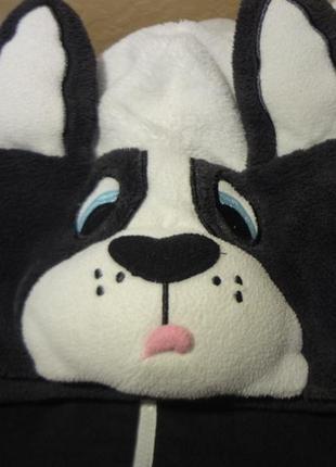 """Домашний теплый костюм собаки """"белый бим - черное пузо"""" от lov..."""