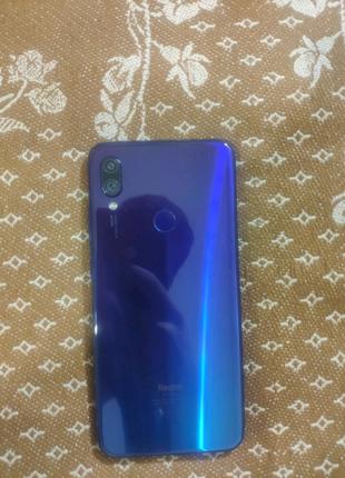 Xiaomi redmi note 7. Neptune blu. Global.