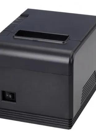 Принтер чеков Xprinter XP-Q300 USB LAN автообрезка скорость 300мм