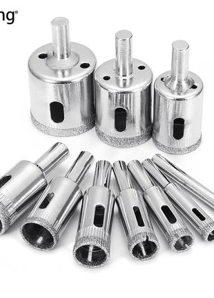 Набір алмазних коронок JTKing 10 шт. 6-32 мм / Алмазные коронки