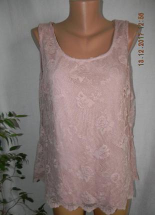Новая кружевная блуза