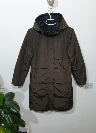 Куртка пальто двухсторонний пуховик пух/перо max mara