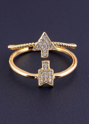 Кольцо 'xuping' фианит (позолота 18к) 0822440