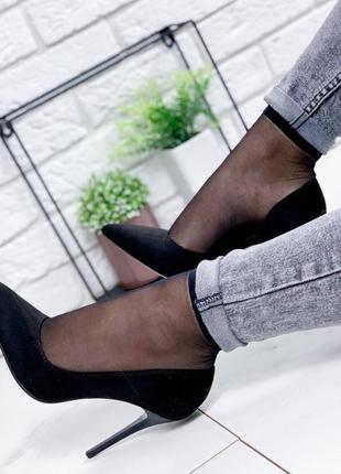 Новинка замшевые туфельки