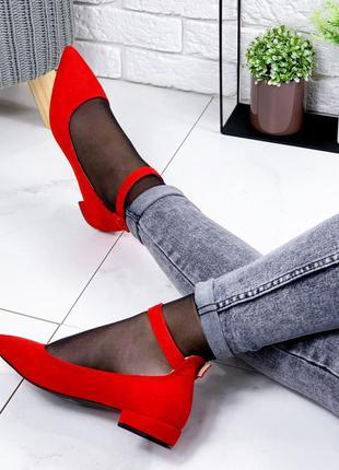 Красные туфельки новиночка