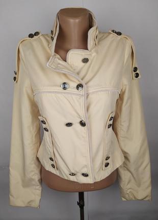 Куртка пиджак стильная с модными пуговицами dolce&gabbana uk 1...