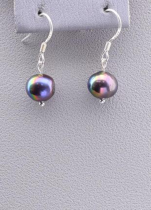 Серьги 'sunstones' жемчуг серебро 0813510