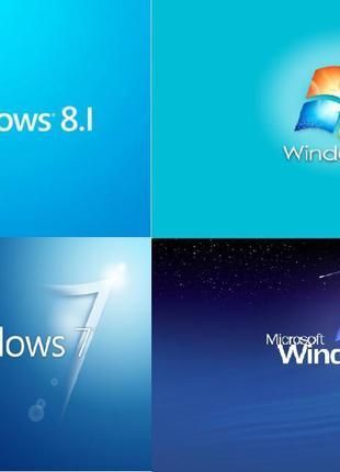 Установка, переустановка, настройка, очистка Windows Виндовс