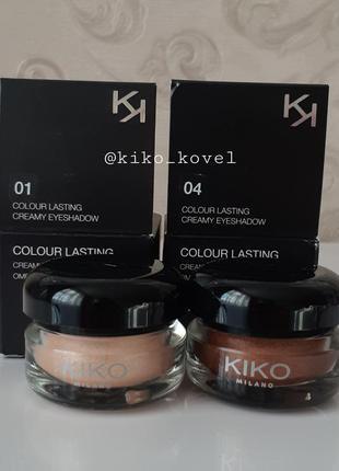Colour lasting creamy eyeshadow!стойкие кремовые тени для век ...