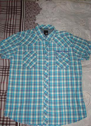Рубашка мужская, фирма Jack&Jones, размер XL (50)