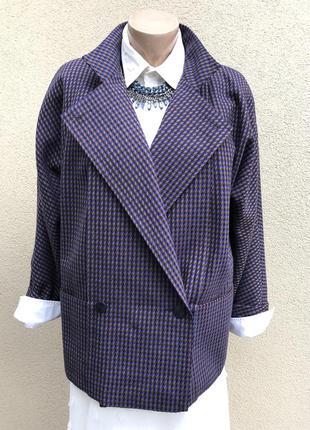 Винтаж,жакет,пиджак реглан,кардиган,легкое пальто,шерсть