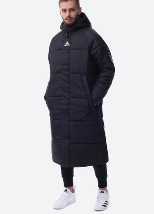 Adidas big baffle long мужская утепленная куртка пальто. ориги...