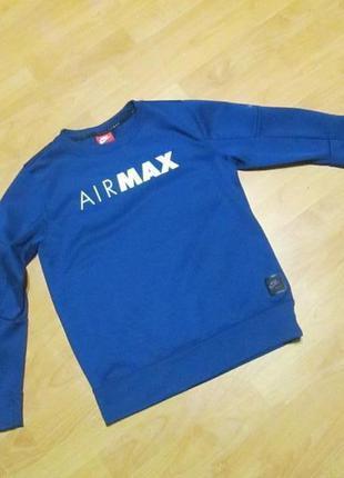 Кофта nike airmax на 12-13 лет оригинал.