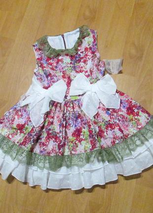 Платье my little angels на 3-4 года