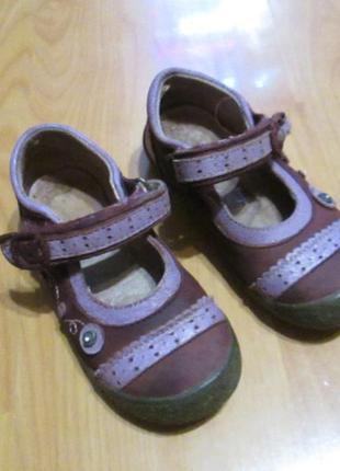 Туфли, размер 25, натуральная кожа