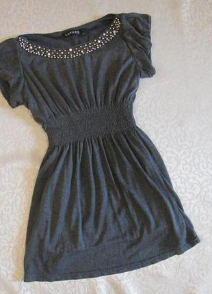 Платье нарядное или туника на 10-11-12 лет layers
